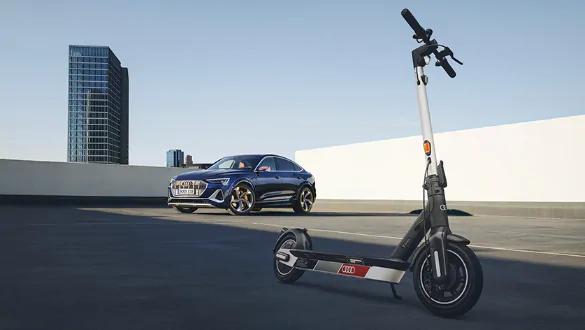 Audi scooter foto 6