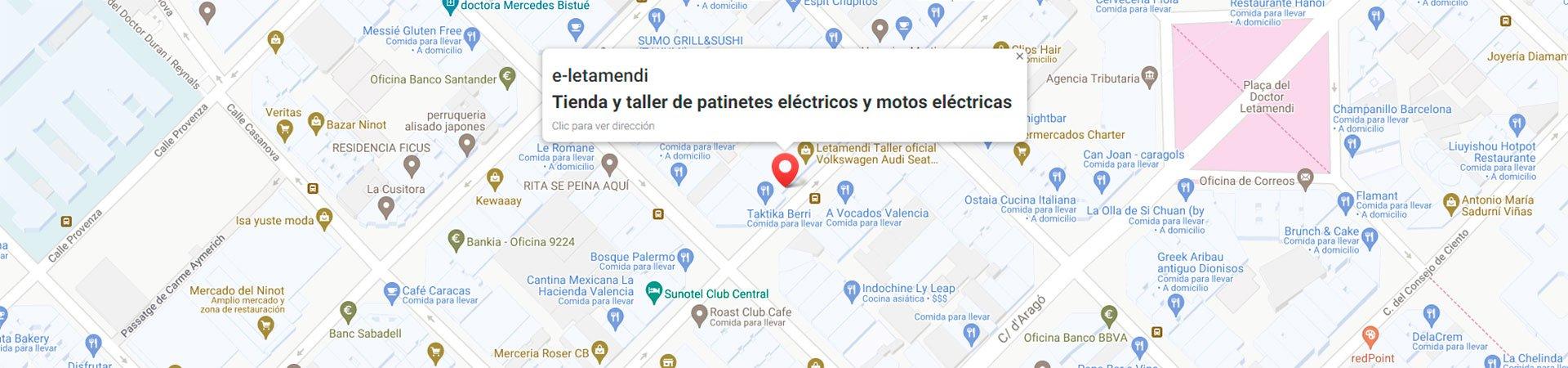 mapa patinetes eléctricos y motos eléctricas desktop
